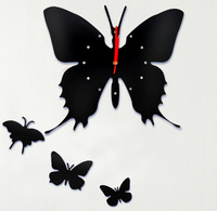Modern Large Butterfly Wall Clock Artistic