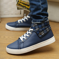 Free shipping  2014 Autumn and winter Korea High for male shoes sport sandals male version The new fashion men's casual shoes