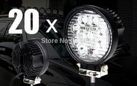 10x 27W Led Offroad Floodlights 4X4 driving light ATV UTV Boat Van Truck Motorcycle Led Work light Fog lamps 12-24V Spotlights