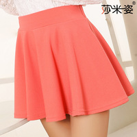 Samisz in the spring of 7031 new candy color sun big swing skirt pleated skirt wholesale