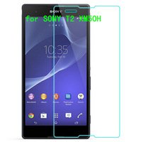0.3mm 2.5D Ultrathin Premium Tempered Glass Film For Sony T2 Ultra XM50h Screen Protector Protective Film Free Shipping