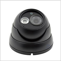 Cctv Security Camera HD 1200TVL SONY Day Night infrared IR  Color Black Dome Outdoor Waterproof Home  W141-12B