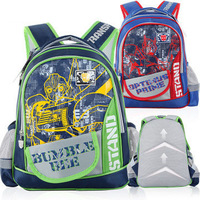 2 colors Transformers bags boys backpacks for children school bags 2014 new red green mochilas T303