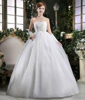 Han edition of tall waist wedding dress fat mm hot white women preferred han edition of tall waist wedding dress show thin
