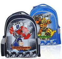 Prime Time Transformers bags boys backpack children school bags black blue 2014 new mochilas T372