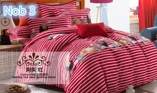 Na venda têxteis lar reativa impressão 4 pcs tira consolador jogo de cama de luxo incluem capa de edredon fronha folha de cama King size(China (Mainland))