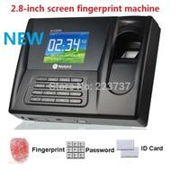 "AC-020 2.8"" TFT Color Screen Biometric Fingerprint Time Clock Recorder Attendance Employee Machine"