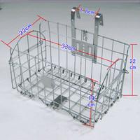 Free install bike folding bike basket  MTB bicycle basket basket plating fast car scrap basket Bicycle shopping basket /W728