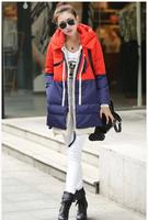 2014 winter thickening women's Women medium-long slim down coat yr1