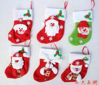Christmas gift bags christmas stocking christmas socks Christmas decoration supplies