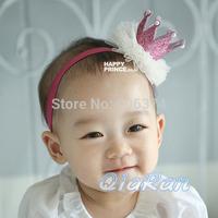 New Hot Design Party Crown Tiara Hairband Boutique Crown Headband Baby Newborn Photo Props Girls Princess