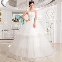 2014 han edition fashion princess wedding dress