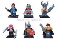 Decool 201-206 LOL Building Blocks Sets super hero marvel black widow LOL classic toys Compatible With Lego T92
