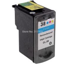 1PK Printer Cartridge CL38 For Canon CL 38 Colour ink Cartridge For Canon ip1800 ip2600 MP140 MP210 MP470 MX300 PRINTER