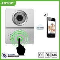 New Hot wifi door phone camera mobile smart phone control new wireless door ip phone