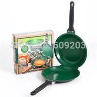Free shipping 32pcs/lot Flip Jack Pancake Maker Orgreenic Kitchenware Ceramic Non Stick Omelette As seen on TV