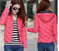 2014 women's slim yrf down coat female short design thickening outerwear