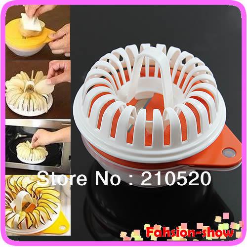 p128-- frete grátis microondas frutas vegetais slicer batata crocante chip diy conjunto maker snack bandeja new quente(China (Mainland))