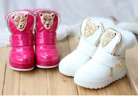 2014 New winter Children's snow boots kids boots Children boots 3 color size 28-32