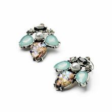 cheap jewelry wholesale honey bee resin beads pearl earrings