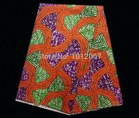 (6yards/lot) YW203! pretty design real hollandais prints fabric !Free shipping guaranteed quality Cotton batik textile online!