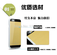 Yellow Luxury Ultra-thin Simple Hard Back Cover For iPhone 6 4.7 inch