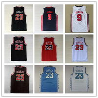 23# Michael Jordan Jersey New Material Rev 30 Embroidery Chicago Basketball jerseys size S-XXL Retail/Wholesale Free Shipping