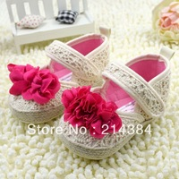 New arrival hand knitted baby girl shoes, new born soft sole crochet baby shoes for toddler baby girls, 6 pairs/lot!