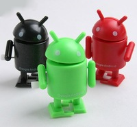 Mini Android Google Robot Doll wind-up toy,Presentation,Action Figure,Attractive,Delicate,Work of art (single) free shipping