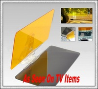 Free Shipping 100packs/lot HD Vision Visor Day and Night Visor As Seen On TV UV Rays Shield Sun Easy View Flip