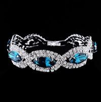 2014  new  Explosion models jewelry fashion glass crystal bracelet  C140