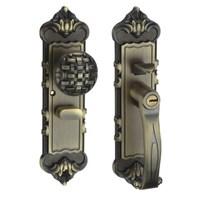 Green bronze/Antique brass, Antique interior door Shiatsu,door lock,   Chinese style Exquisite beauty Free Shipping(3 pcs/lot)