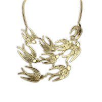 Fashion swallow vintage 2013 Women animal personalized fashion hot-selling necklace