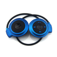 Sport Bluetooth Blue Stereo Headphone Headset For Samsung Galaxy S5 S4 S3