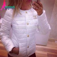 2014 Gagaopt wadded jacket For woman fashion slim short lady short snow wear all match brief woman outerwear