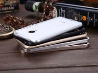 Aluminum Bumper For MEIZU MX4 Bumper Frame Luxury Aluminum No Screw Metal  phone bumper