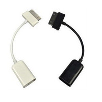 50pcs USB Host OTG Cable Adapter for Samsung Galaxy Tab 2 10.1 8.9 7.7 7.0 Note N8000 P3110 P5100P7510 P7500 OTG Cable