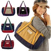 Popular Hot Ladies Canvas Shoulder Bag Hobo Purse Tote Women Messenger Handbag for first service