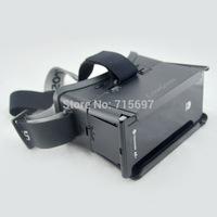 Google Cardboard Head Mount Colorcross Headset Virtual Reality Mobile Version 3D Glasses IMAX Cinema 4 inch -7 inch Phone Use