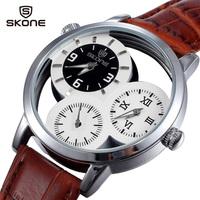 relogios 2014 watches men luxury brand Fashion Men Wristwatches Genuine leather Original Japan Quartz Watches Business Men watch