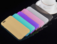 Ultra thin Water Set Scrub Soft Silicone TPU Case Cover for iPhone 6 For Iphone 6 Plus Clear Gel Rubber Shell 4.7/5.5 inch
