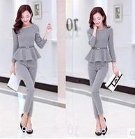 Plus size clothing plus size 200 mm set ultralarge twinset