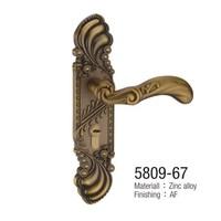 China Phoenix,Lucky, Yellow bronze, Antique interior door Shiatsu,door lock, Chinese style  (3 pcs/lot)