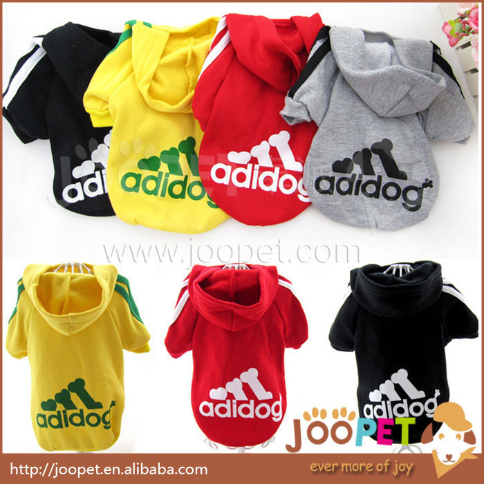 Brand name cheap pet dog adidogs clothes pet hoodie clothing for dogs pet products Supplies(China (Mainland))
