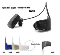 W262 enhance version Sport MP3 music player waterproof mp3 player headset wireless 8GB