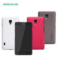 Free Shipping Nillkin Frosted Hard Case Back Cover Case For LG Optimus F7 / F260S Gift Screen Protector