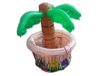 Hawaii Series Inflatable Small Cooler ice bucket drinks cooler Inflatable palm tree for Home Decoration