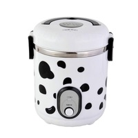 Ultra Low Cost Wholesale Multifunctional Mini Rice Cooker 1L Printing Small Children Cooker Cookers For Students