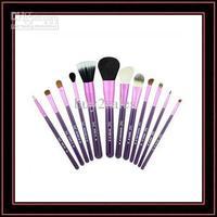 Brazil 13pcs ISMINE Wool Makeup Brush Sets Soft Cosmetic Brushes Sets Purple Bobbin Retailbox