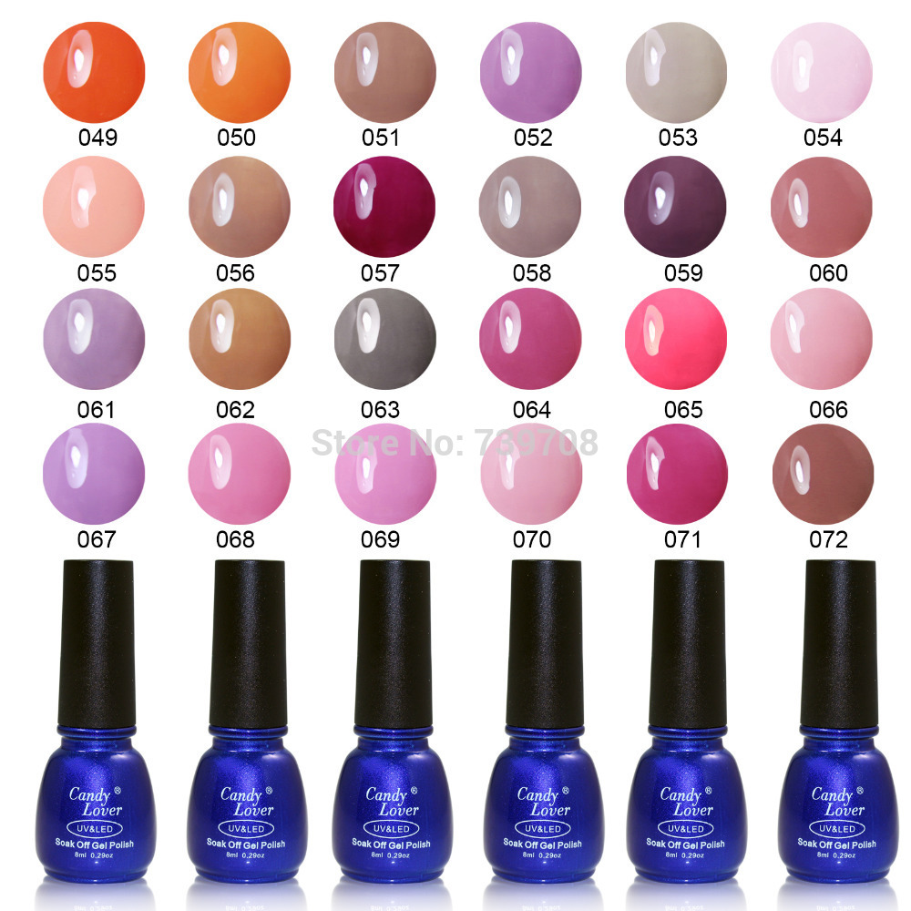 New Promotion 8ML Nail Gel High Quality Soak Off UV Gel Polish Choose One from 240 Fashion Colors Nail Art Gel Free Shipping(China (Mainland))